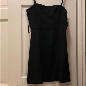 French Connection Spaghetti Strap Black Dress